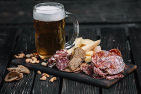 Piwo, mięso i ser mogą mieć dobroczynny wpływ na nasz organizm