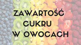 Zawartość cukru w owocach