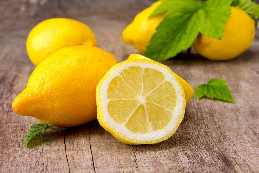 Najwięcej witaminy C w cytrynie