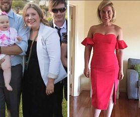Walczyła z depresją poporodową. Schudła 25 kg