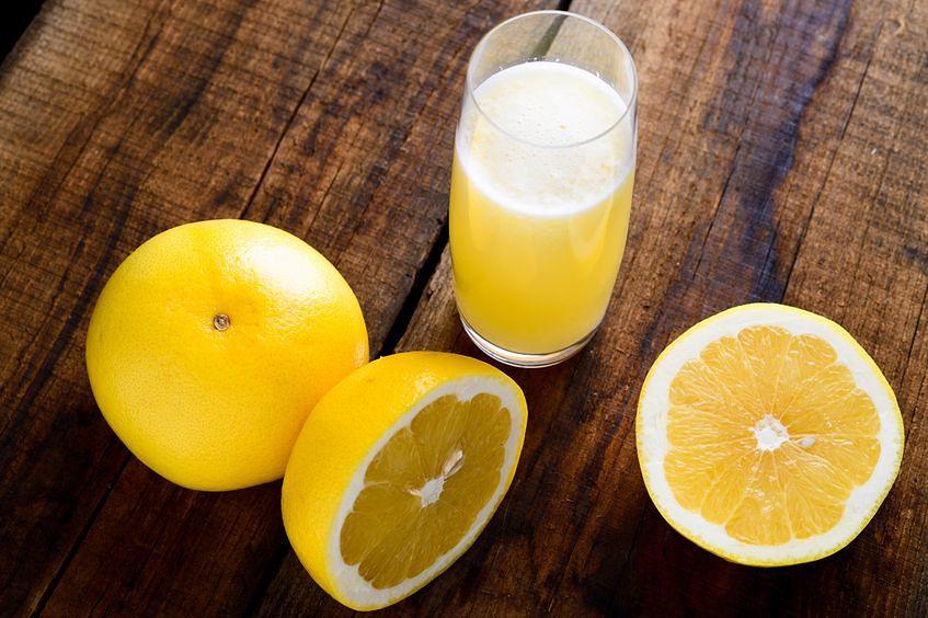 Grejpfrut biały - 34 mg witaminy C w 100 g produktu