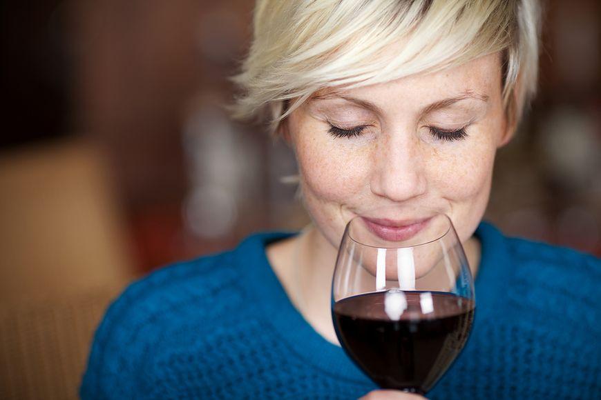 Twarz amatorek wina