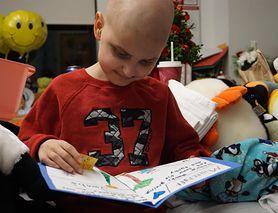 Dziewięciolatek umiera na nowotwór. W tym roku święta Bożego Narodzenia świętuje w listopadzie