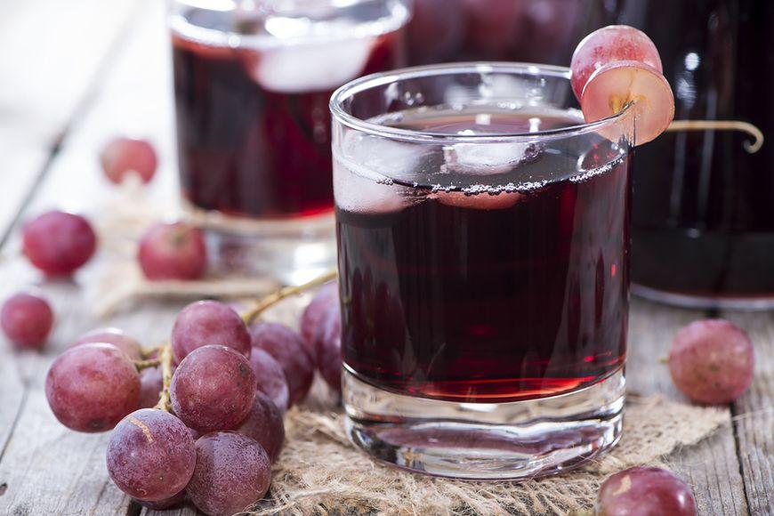 Sok z winogron