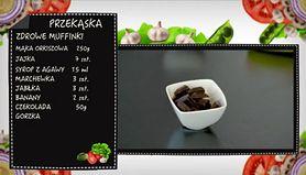 Przepis na zdrowe muffinki (WIDEO)