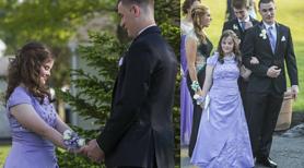 Obiecał jej, że pójdą razem na bal maturalny. Po 7 latach dotrzymał słowa