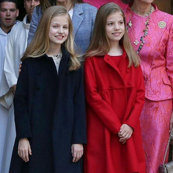 Dziewczynki z dynastii Burbonów kiedyś będą rządziły Hiszpanią