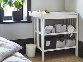 Jak zorganizować kącik do przewijania niemowlęcia?