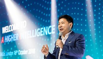 """Tylko w money.pl: Prezes Huawei Richard Yu o planach firmy. """"Jesteśmy tymi, którzy nadają tempo"""""""