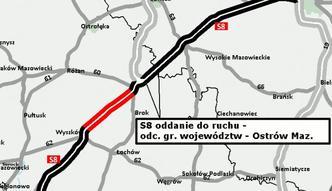 Kolejny odcinek S8 ukończony. Trasa ekspresowa Warszawa-Białystok ma coraz więcej kilometrów