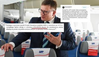 """LOT chce blisko 2 mln zł odszkodowania od związkowców. """"Zarząd oszalał"""""""