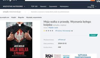 Afera w sieci o Międlara. Empik dla money.pl: sprzedaż książki zablokowana