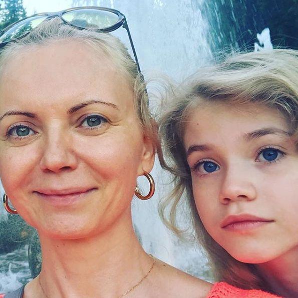 Aktorka ma jedną córkę - Mirę