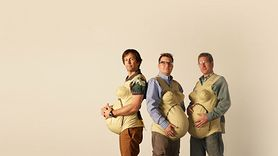 Sprawdzili, jak to jest być w ciąży. Miesięczny eksperyment trzech tatusiów