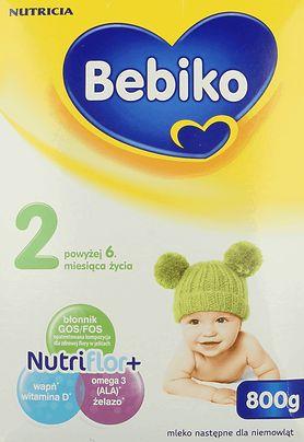 Bebiko 2 z NutriFlor+ - portfolio produktów