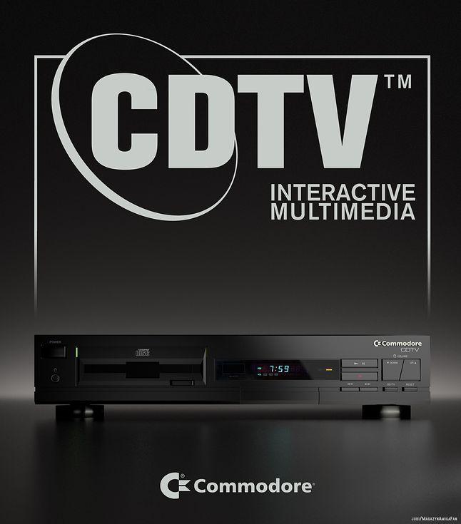 Amiga CDTV wskazywała, jak powinen wyglądać komputer multimedialny.
