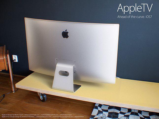 Tak wyobrażano sobie Apple TV jeszcze przed premierą.