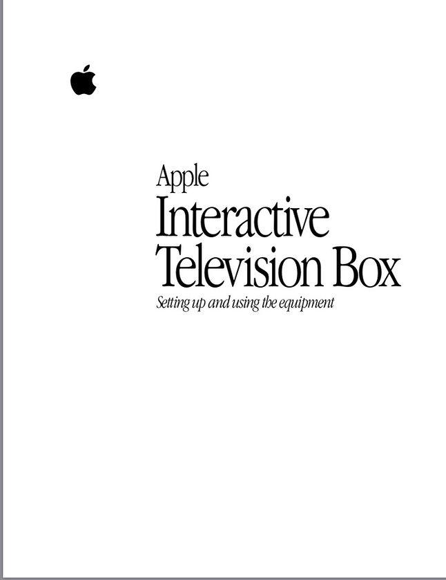 Okładka instrukcji Apple ITB.