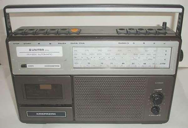 Radiomagnetofon KASPRZAK RM222