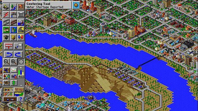 Sim City 2000 może grafika dziś ni ujmuje, ale grywalność miało olbrzymią.