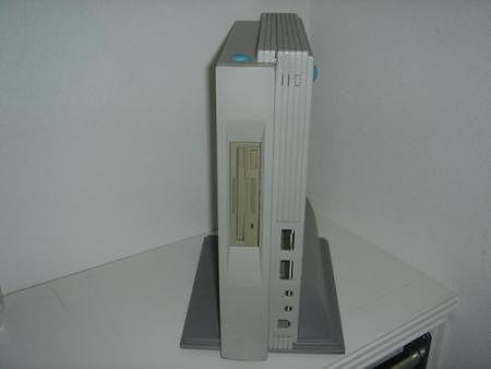 Obudowa Falcona MicroBox Painter nie przewiduje miejsca na napęd CD.