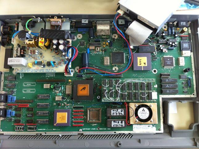 Wnętrze Atari Sparrow było wówczas okryte głęboką tajemnicą.