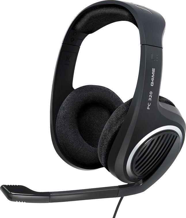 Przykładem słuchawek do gier są Sennheiser PC 320