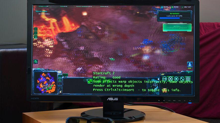 ASUS VG278 dla graczy i druga odsłona 3D Vision