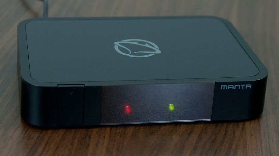Manta Smart TV Box - internet w telewizorze