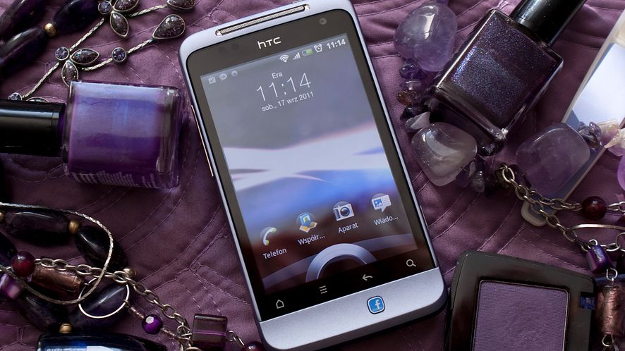 HTC Salsa — Facebook w torebce