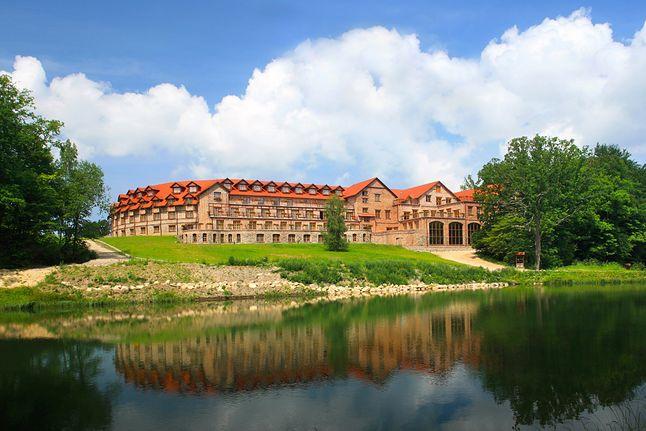 ...w urzekającym hotelu Dolina Charlotty Resort & SPA