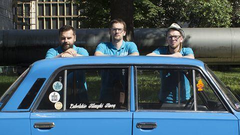 Electro Ride, czyli maluch, poldek i duży fiat. Krążowniki polskich szos wracają. Tym razem w przyszłości [TYLKO U NAS]