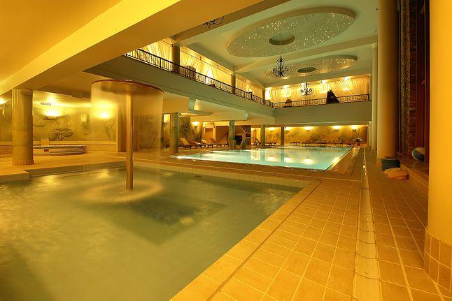 ...wspaniałym basenem
