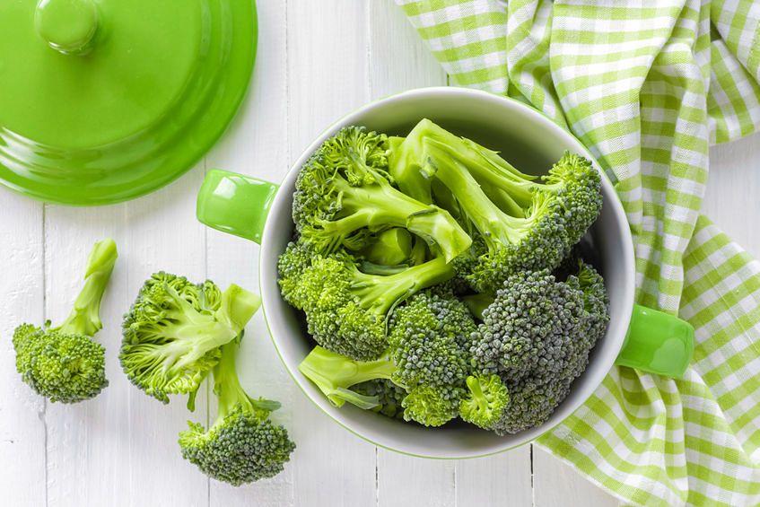 Brokuły są bogatym źródłem selenu