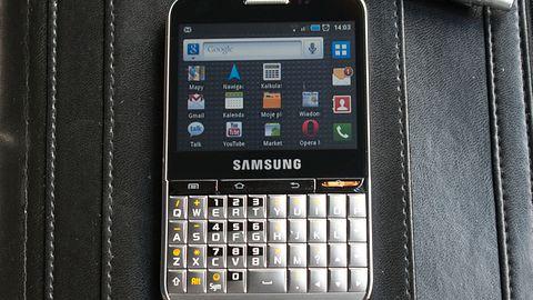 Samsung Galaxy Pro — dla niewymagającego biznesmena