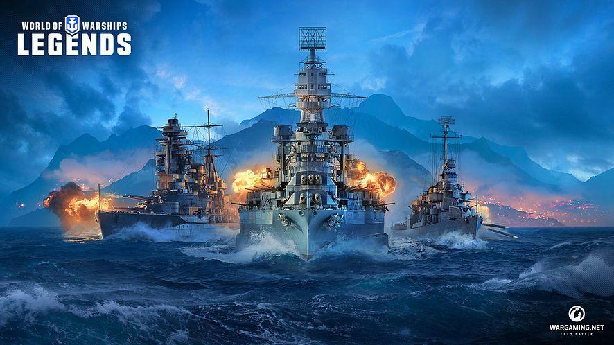 World of Warships: Legends płynie na konsole