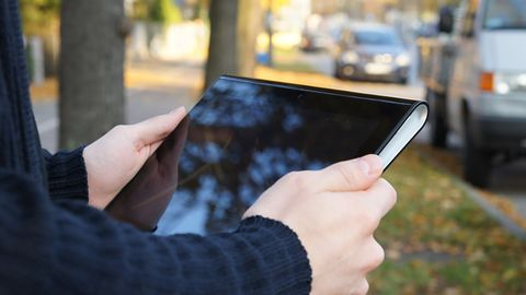 Sony Tablet S — designerski przeciętniak