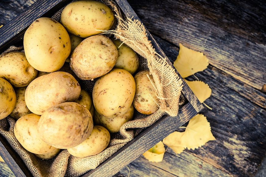 Witaminy i składniki mineralne w ziemniakach