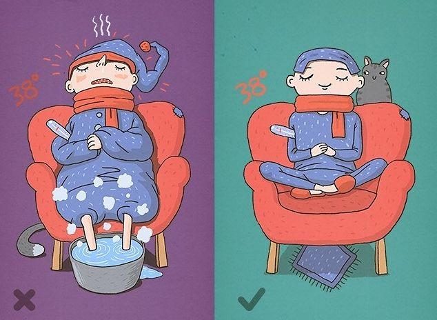 Pierwsza pomoc w czasie wysokiej temperatury ciała
