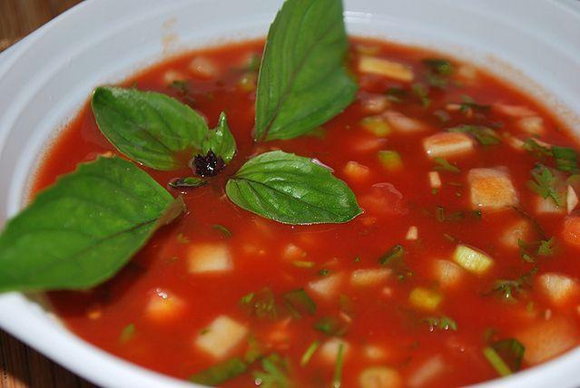Gazpacho, czyli chłodnik z pomidorów
