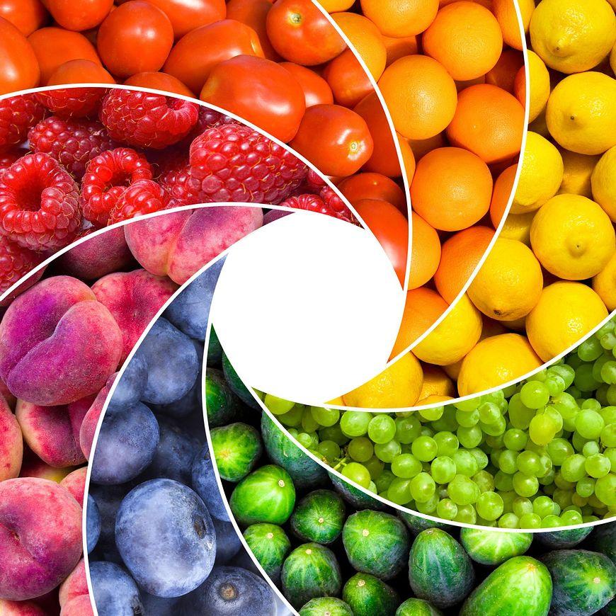 Kolor roślin jadalnych ma znaczenie