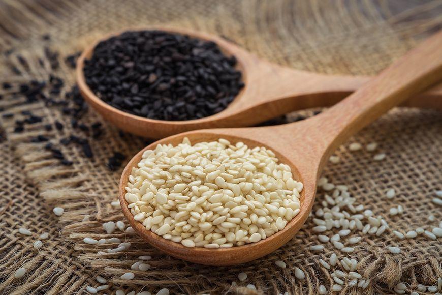 Sezam zamiast nasion chia
