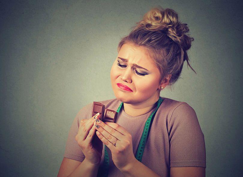 Nadmiar cukru w diecie skutkuje nadwagą