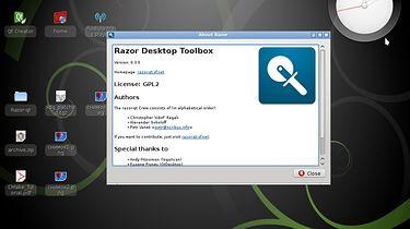Razor-qt - lekkie środowisko graficzne