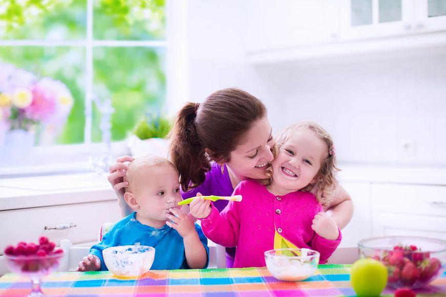Dieta dzieci powinna zawierać produkty mleczne