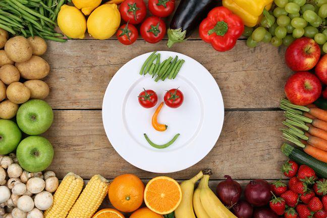 Niskokaloryczne warzywa i owoce