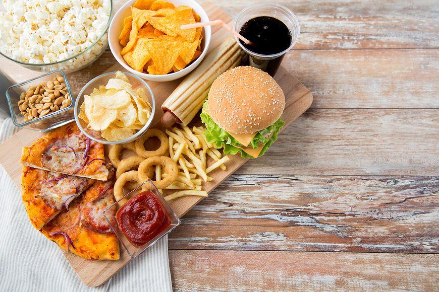 Fast food jest pełen szkodliwej soli
