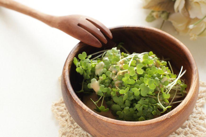 Kiełki brokułów