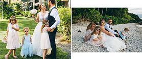 Założyła synkowi sukienkę na wesele. Inni krytykują ją, że robi z niego geja