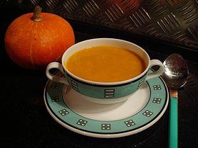 Zupa dyniowa - z białym winem, z mlekiem kokosowym, na ostro
